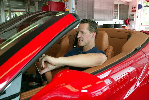Michael Schumacher beim Ferrari California Test - Foto: Ferrari Press Office