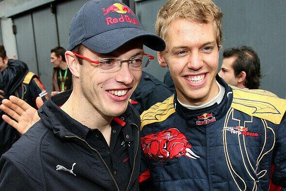 Im teaminternen Duell hatte Vettel meistens die Nase vorne