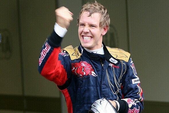 Sebastian Vettel feierte 2008 in Monza mit Toro Rosso seinen ersten Formel-1-Sieg - Foto: GEPA