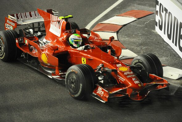 Pole Position für Felipe Massa. - Foto: Ferrari Press Office