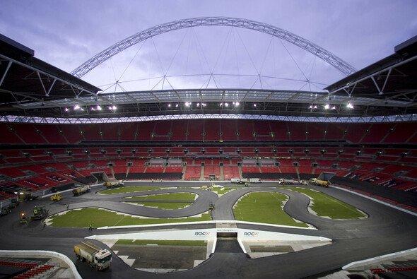 In Wembley wurde schon gefahren