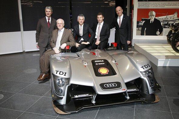 Der R15 TDI muss es jetzt zeigen - Foto: Audi