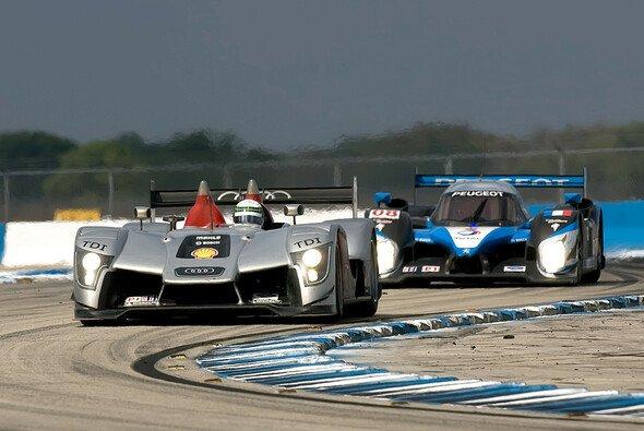 Im Qualifying landete Audi hinter Peugeot - Foto: Audi