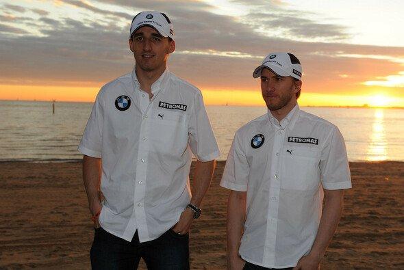 Nick Heidfeld und Robert Kubica fuhren 2006 bis 2009 für Sauber in der Formel 1 - Foto: BMW