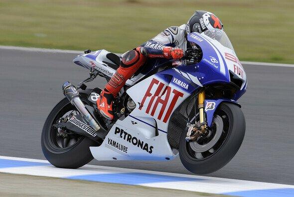 Jorge Lorenzo besiegte seinen Teamkollegen - Foto: Yamaha Racing