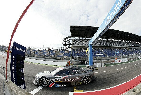 Christian Bakkerud will sich von Rennen zu Rennen steigern - Foto: Audi