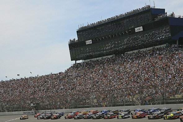 Der Start auf dem Michigan International Speedway