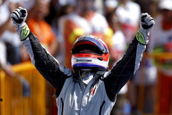 Rubens Barrichello feierte den ersten Saisonsieg. - Foto: Brawn GP