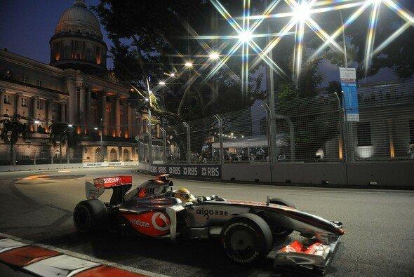 Hamilton holte den zweiten Saisonsieg. - Foto: Bridgestone