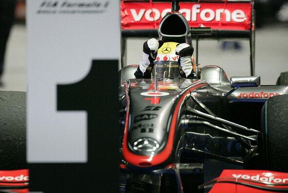 Lewis Hamilton war nicht zu stoppen, weder von der Konkurrenz, noch von KERS. - Foto: McLaren
