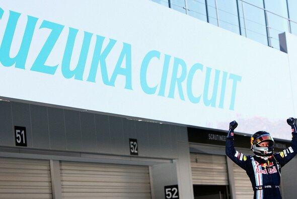 Sebastian Vettel war der König von Suzuka. - Foto: Red Bull