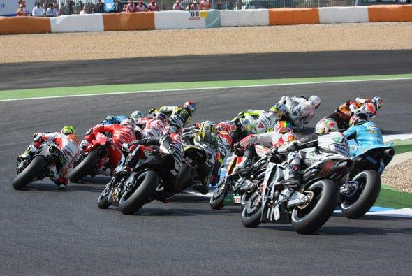 In der MotoGP-Klasse gab es nur eine Änderung - Dani Pedrosa kehrt zur Startnummer 26 zurück.