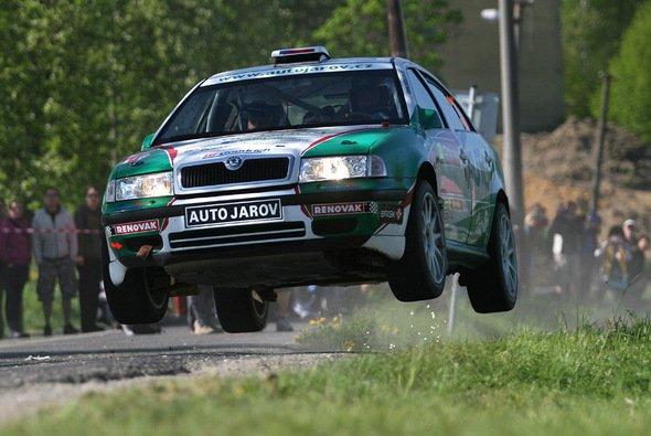 Staraufgebot bei der Lausitz Rallye