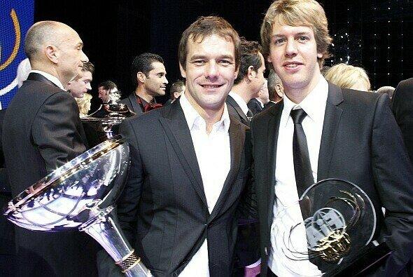 Zwei Champions, die sich gegenseitig bewundern