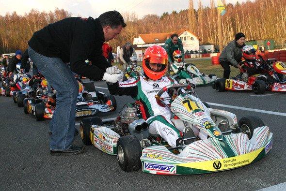 Michael Schumacher fährt leidenschaftlich gerne Kart - Foto: KSM Motorsport