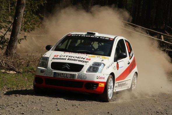 Im letzten Jahr waren Riedemann/Beinke in der Rallye Masters unterwegs.