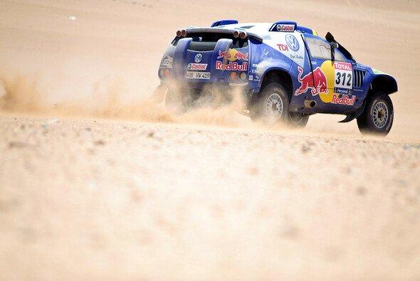 VW schickt einen überarbeiteten Race Touareg nach Südamerika - Foto: Red Bull