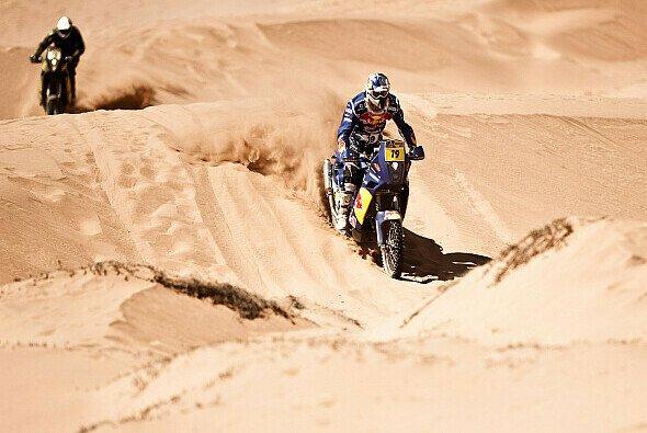 Ruben Faria konnte die letzte Etappe der Dakar 2010 gewinnen. Cyril Despres reichte ein sechster Rang zum Gesamtsieg.