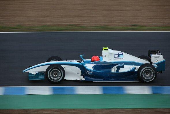 Michael Schumacher schloss am Donnerstag seinen GP2-Test ab. - Foto: GP2 Series