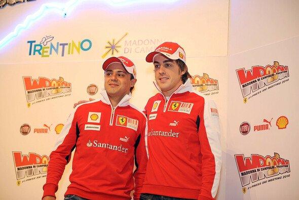 Harmonie zwischen Massa und Alonso - Foto: Ferrari