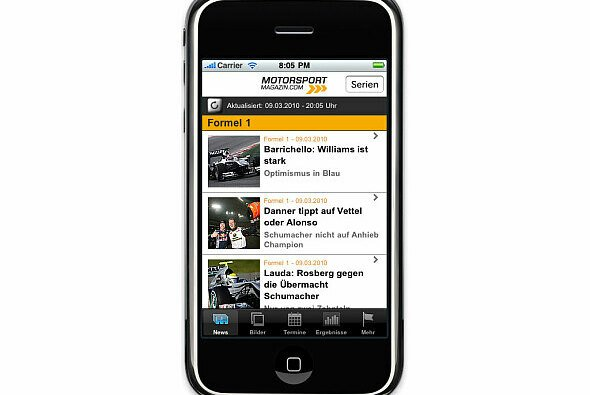 Update: Motorsport-Magazin.com iPhone App