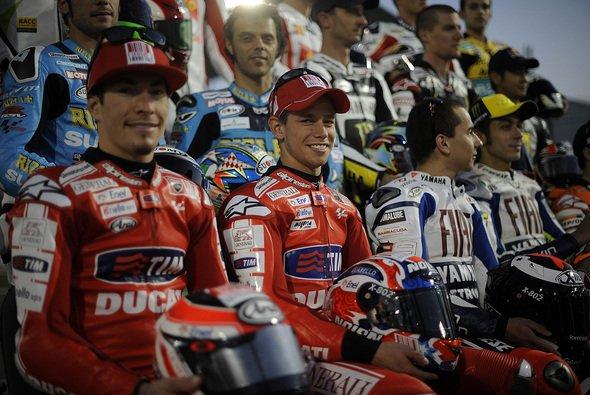 Die MotoGP 2010 klein aber hoffentlich fein.