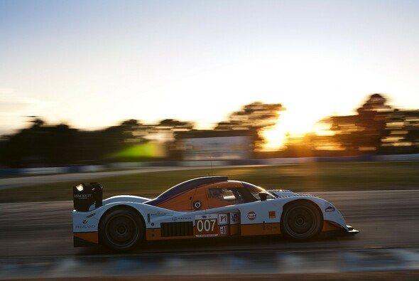 Stefan Mücke konnte für sein Team den Lola-Aston Martin über die Zillinie fahren. - Foto: Mücke Motorsport