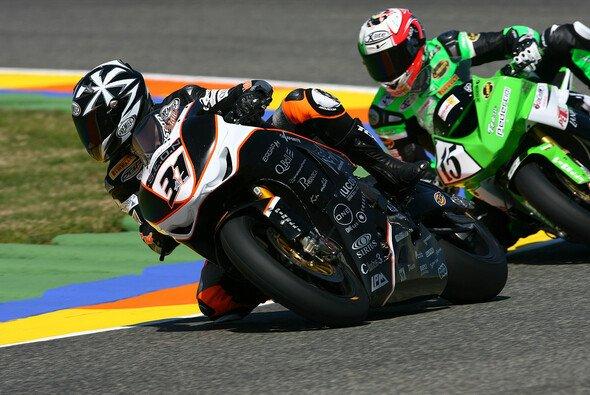Auf der Start-Ziel-Geraden kollidierte Iannuzzo in Valencia mit Andrews. Lauf 2 musste daraufhin abgebrochen werden.