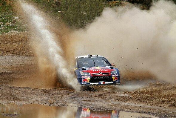 Drei Bestzeiten: Loeb polierte seine Bilanz auf. - Foto: Red Bull/GEPA