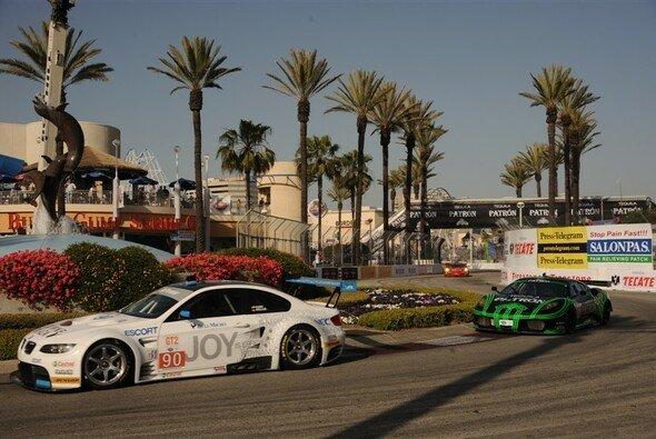 Porsche mit bester Gesamteffizienz zum Klassensieg in Long Beach. - Foto: ALMS
