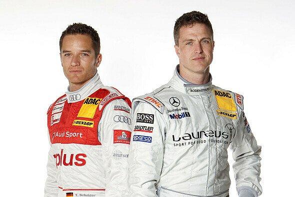 Ralf Schumacher und Timo Scheider vertrugen sich am Nachmittag,... - Foto: DTM