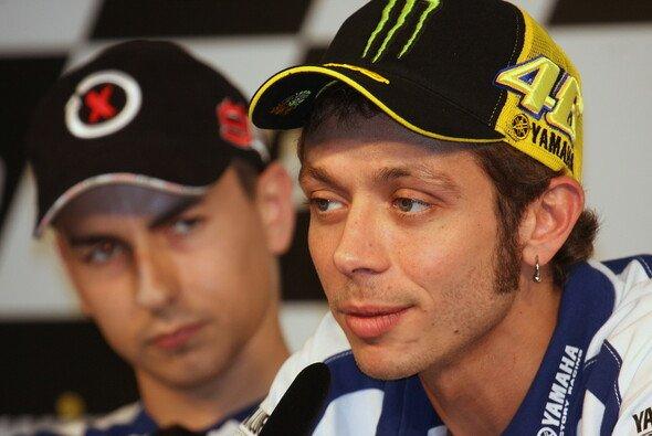 Valentino Rossi gegen Jorge Lorenzo - darauf freut die gesamte Szene