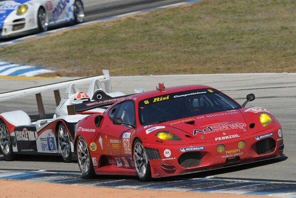 Im Risi Ferrari sind vordere Platzierungen das Ziel. - Foto: ALMS