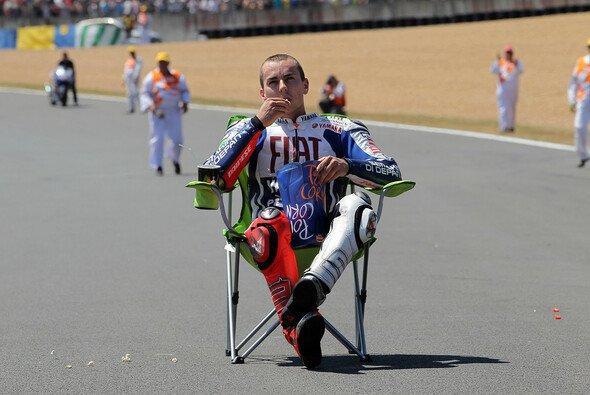 Jorge Lorenzo saß auf dem Regie-Sessel - Foto: Milagro