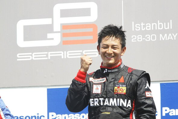 Virgin-Test für Haryanto - Foto: GP3 Series