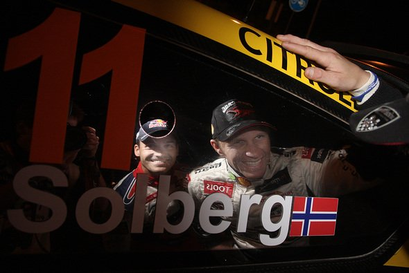 Peter Solberg hat einen neuen Beifahrer