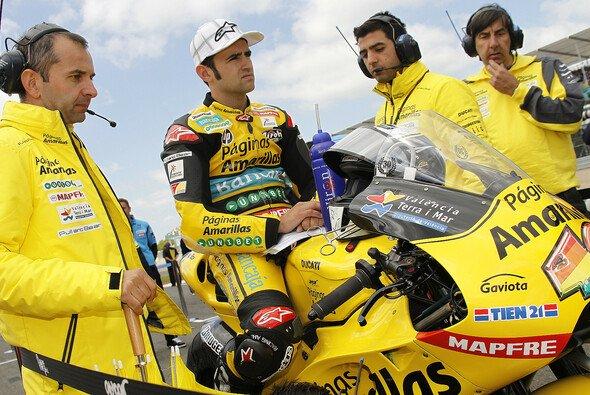 Das Aspar Ducati Team von Jorge Martinez konnte sich 2010 in der Königsklasse etablieren