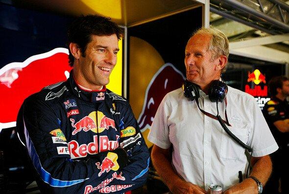 Dr. Helmut Marko erachtet Mark Webber als drei Zehntel langsamer als Sebastian Vettel