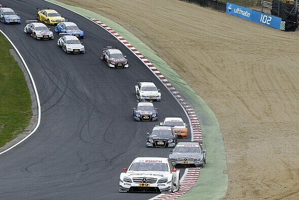 Der Indy Kurs von Brands Hatch ist etwas ganz Besonderes - Foto: DTM