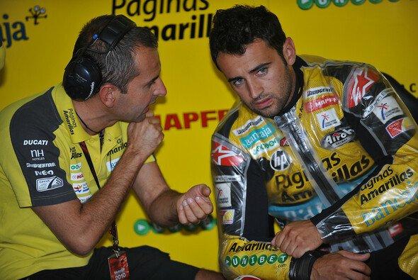 Hector Barbera war mit Rang 13 von Motegi nicht einverstanden. - Foto: Milagro