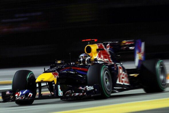 Sebastian Vettel hat alle Chancen, das Rennen zu gewinnen - Foto: Red Bull/GEPA