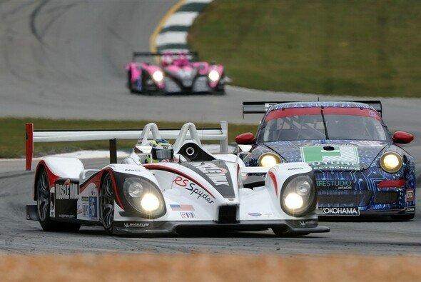 Klasu Graf sichert Porsche den zweiten Startplatz. - Foto: ALMS