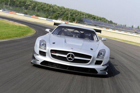 Der Mercedes SLS AMG GT3 feierte in Dubai einen Dreifach-Erfolg