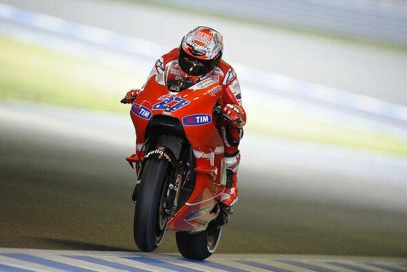 Casey Stoner strahlte wie ein Honigkuchenpferd: In Motegi gab es den zweiten Sieg der Saison und das auch noch in Folge. - Foto: Ducati