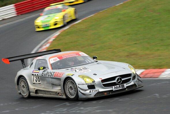 Der Mercedes SLS AMG GT3 hat sich bereits in der VLN bewehrt