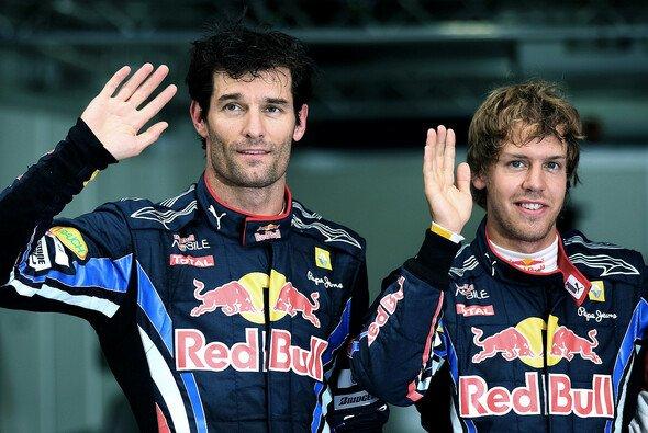 Mark Webber und Sebastian Vettel: Keine Freunde fürs Leben - Foto: Red Bull/GEPA