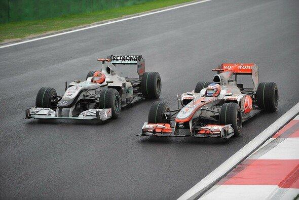 Kann Mercedes 2011 zu den Spitzenteams aufschließen? - Foto: Bridgestone