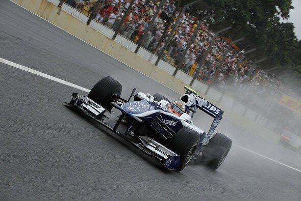 Nico Hülkenberg fuhr am schnellsten durch den Regen