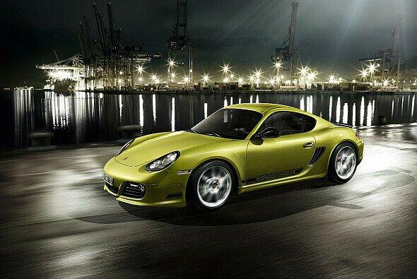 Feierte in LA Weltpremiere: Porsche Cayman R