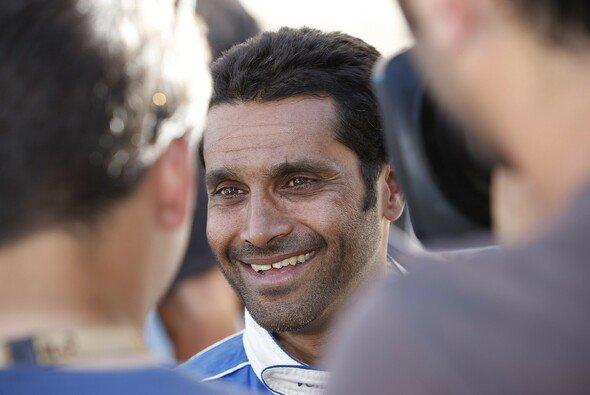 Ein strahlender Sieger: Nasser Al-Attiyah